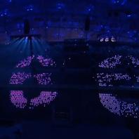 Spécial JO :une entreprise québécoise utilise le DEL pour animer la foule !