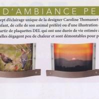 Les Photophares sont présentés dans le magazine Moi& Cie du mois de mars !