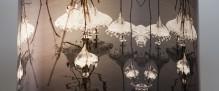 Lampe Tambour- Bal de Glace