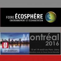 Illuminart à la foire Écosphère – 13-14 août 2016
