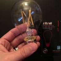 Ampoules à filaments jaunes maintenant disponibles